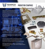 Tempco Manufacturing Co. Brochure Production Stampings